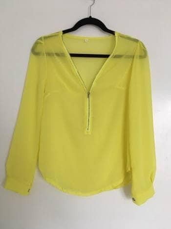 Foto Carousel Producto: Blusa con zipper GoTrendier