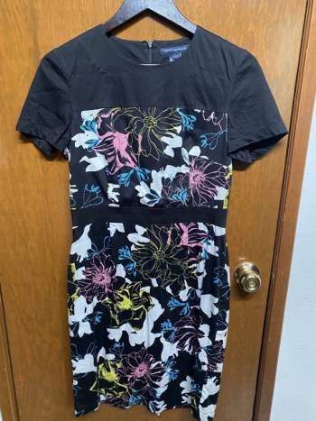 Foto Carousel Producto: Vestido recto estampado GoTrendier