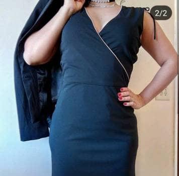 Foto Carousel Producto: Hermoso vestido Zara doble vista GoTrendier