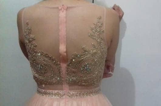 Foto Carousel Producto: Vestido Rosa Palo GoTrendier