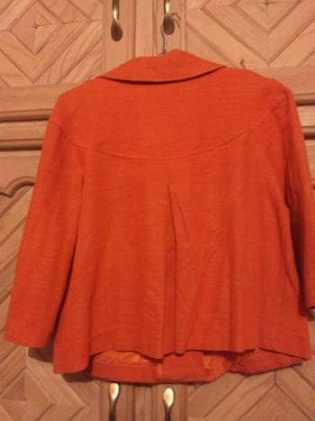 Foto Carousel Producto: Saco naranja manga tres cuartos!! GoTrendier