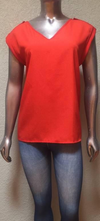 Foto Carousel Producto: Blusa Modelag Naranja GoTrendier