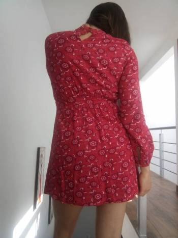 Foto Carousel Producto: Vestido estampado Vertiche GoTrendier