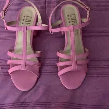 Foto Carousel Producto: Tacones rosa Barbie GoTrendier