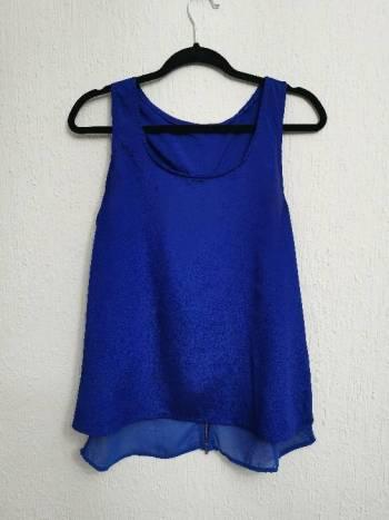 Foto Carousel Producto: Blusa Azul ELIGE 3X$299 GoTrendier