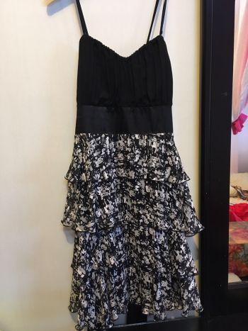 Foto Carousel Producto: Vestido corto negro de noche GoTrendier
