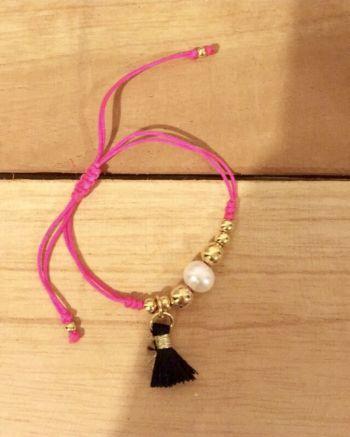 Foto Carousel Producto: Pulsera nueva con perla y flequillo GoTrendier