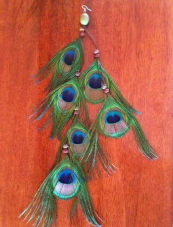 Foto Carousel Producto: Artes de pluma de pavo real GoTrendier