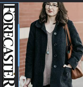 Foto Carousel Producto: Abrigo de lana gris oscuro T.10 GoTrendier