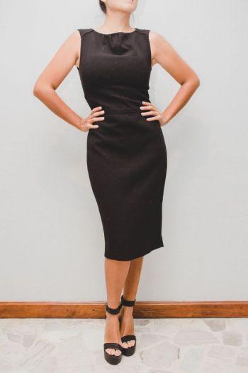Foto Carousel Producto: Vestido recto 3/4 GoTrendier