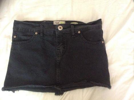 Foto Carousel Producto: Mini jean negra GoTrendier