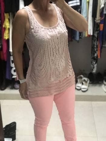 Foto Carousel Producto: Blusa rosa Express GoTrendier