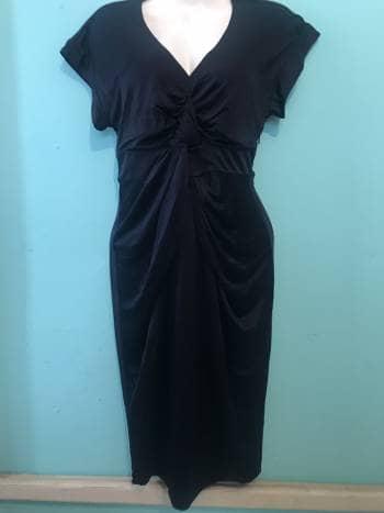 Foto Carousel Producto: Vestido azul, satinado GoTrendier