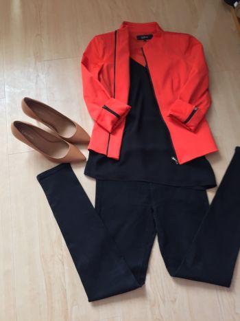 Foto Carousel Producto: Blazer formal naranja GoTrendier