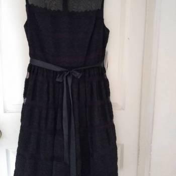 Foto Carousel Producto: Vestido Negro Encaje Talla 12P GoTrendier