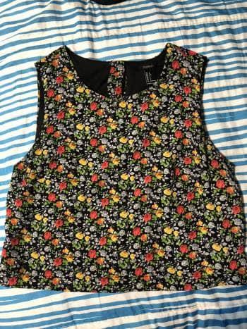 Foto Carousel Producto: Blusa sin mangas de flores GoTrendier