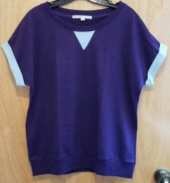 Foto Carousel Producto: Blusa morada con azul GoTrendier