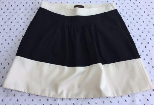 Foto Carousel Producto: Falda negra/blanco GoTrendier