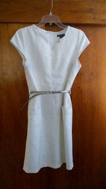 Foto Carousel Producto: Vestido blanco casual GoTrendier