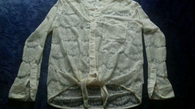 Foto Carousel Producto: Blusa tipo encaje fino GoTrendier