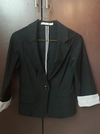 Foto Carousel Producto: Blazer casual negro GoTrendier