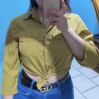 Foto Carousel Producto: Blusa rayada talla M GoTrendier