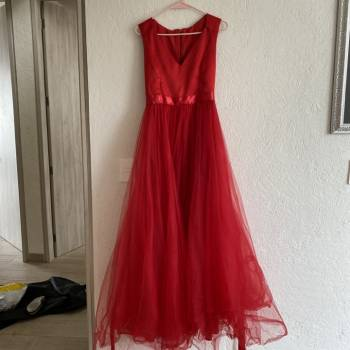 Foto Carousel Producto: Vestido largo de noche GoTrendier
