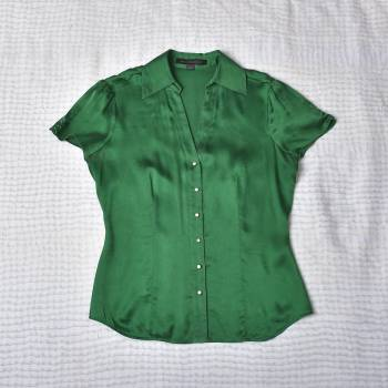Foto Carousel Producto: Blusa de seda stretch Express GoTrendier