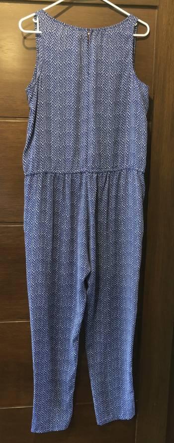 Foto Carousel Producto: Jumpsuit azul con blanco Gap GoTrendier