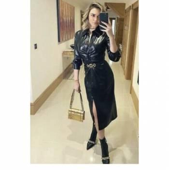 Foto Carousel Producto: Vestido tipo piel GoTrendier
