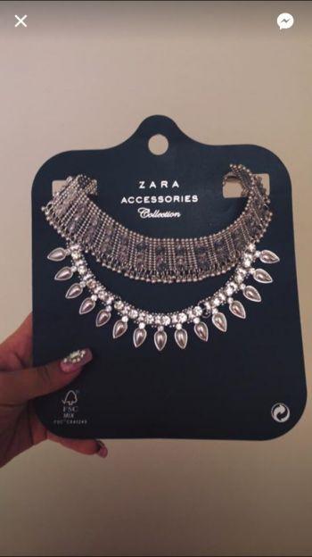 Foto Carousel Producto: ZARA - Collar/Gargantilla - Plata GoTrendier