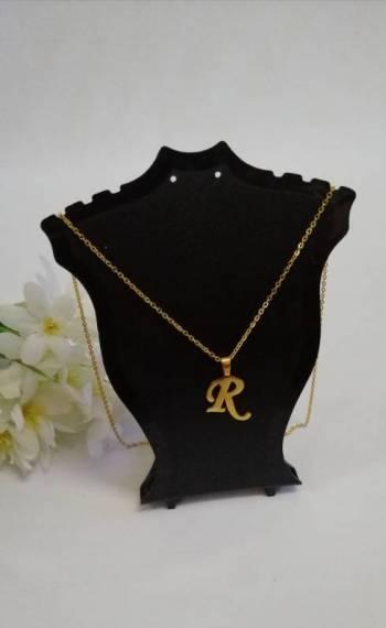 Foto Carousel Producto: Set Collar Letras GoTrendier