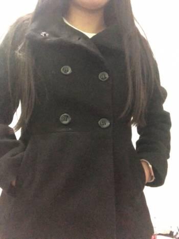 Foto Carousel Producto: Abrigo Negro sahara S GoTrendier