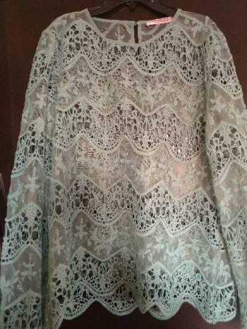 Foto Carousel Producto: Blusa verde pistache GoTrendier