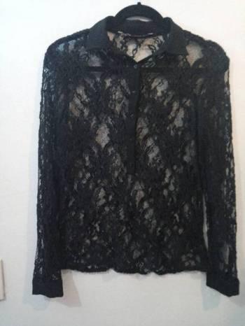 Foto Carousel Producto: Zara Blusa tipo encaje negra GoTrendier