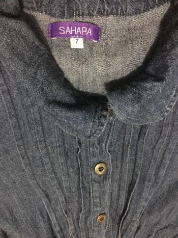 Foto Carousel Producto: Vestido de mezclilla GoTrendier