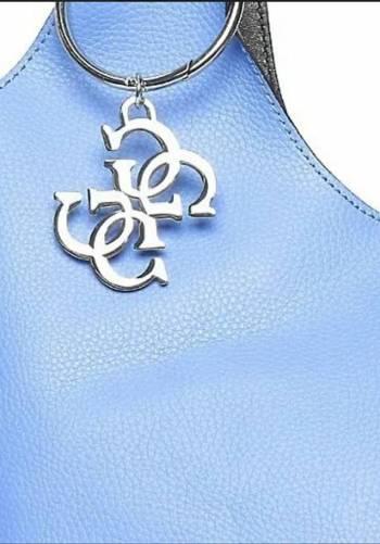 Foto Carousel Producto: Bolsa azul tipo shoper mediana-grande GoTrendier