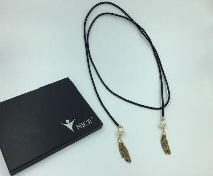 Foto Carousel Producto: Collar negro GoTrendier