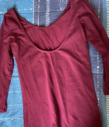 Foto Carousel Producto: Blusa vino (Blusas 2x$300) GoTrendier