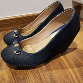Foto Carousel Producto: Zapatos plataforma azul GoTrendier
