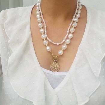 Foto Carousel Producto: Collar de perlas  GoTrendier