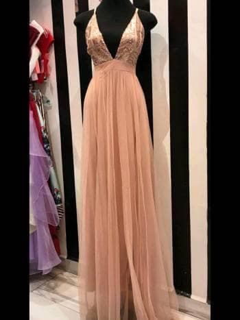 Foto Carousel Producto: Vestido largo Pink & Shop GoTrendier