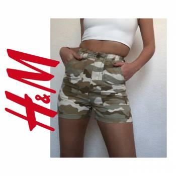 Foto Carousel Producto: Short de H&M camuflaje GoTrendier