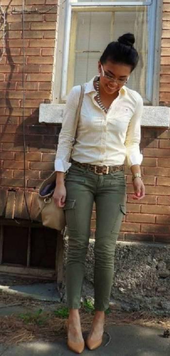 Foto Carousel Producto: Pantalon Cargo Skinny  GoTrendier