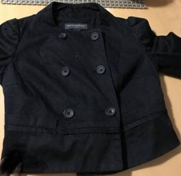 Foto Carousel Producto: Saco corto negro GoTrendier