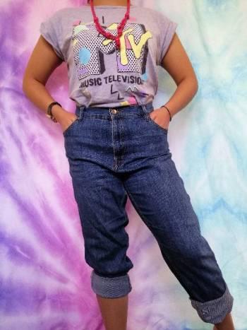 Foto Carousel Producto: Pantalon de mezclilla Boyfriend GoTrendier