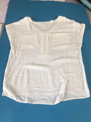 Foto Carousel Producto: Blusa blanca mujer GoTrendier