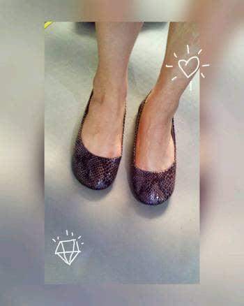 Foto Carousel Producto: Flats vibora con textura GoTrendier