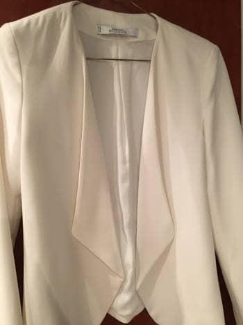 Foto Carousel Producto: Blazer formal blanco GoTrendier