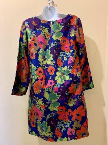 Foto Carousel Producto: Vestido Neon de Seda GoTrendier
